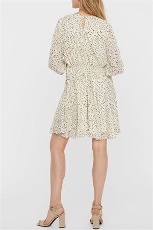 VERO MODA | Dress | 10245699Detail-NAVY AND SILVER