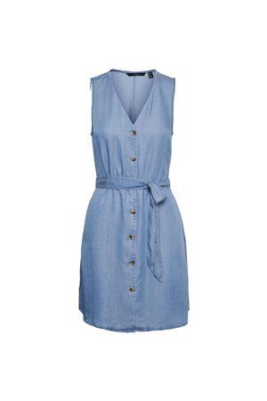 VERO MODA VESTITO CORTO Donna Modello VIVIANA VERO MODA | Vestito | 10247808Light Blue Denim