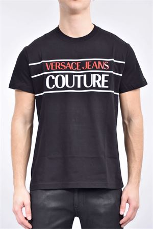 VERSACE JEANS COUTURE Men's T-Shirt VERSACE JEANS COUTURE | T-Shirt | B3GWA7TC30319899