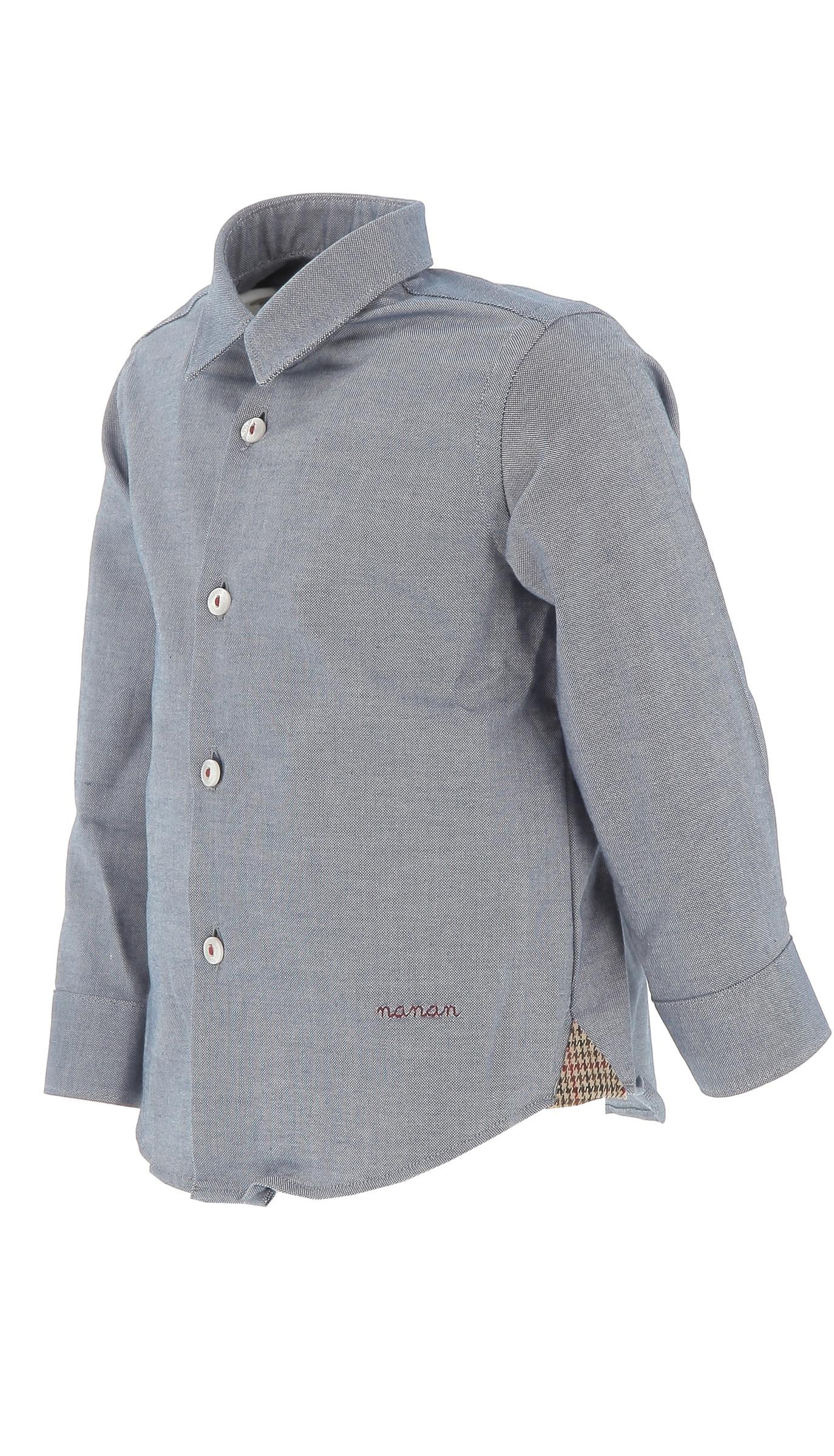 nanan camicia NANAN | Camicia | I19138BLU