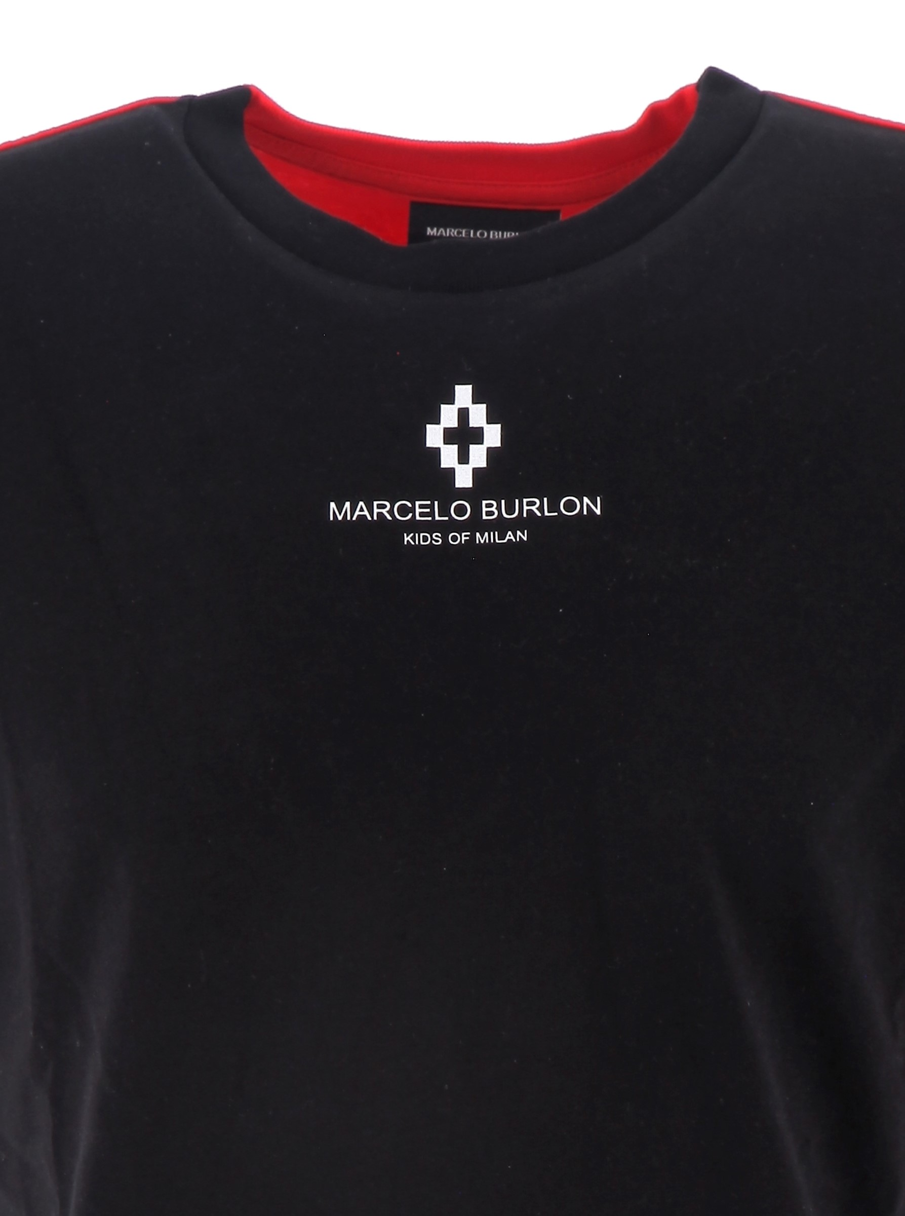 T-shirt Basic MARCELO BURLON KIDS OF MILAN   T-shirt   BMB11130010B010
