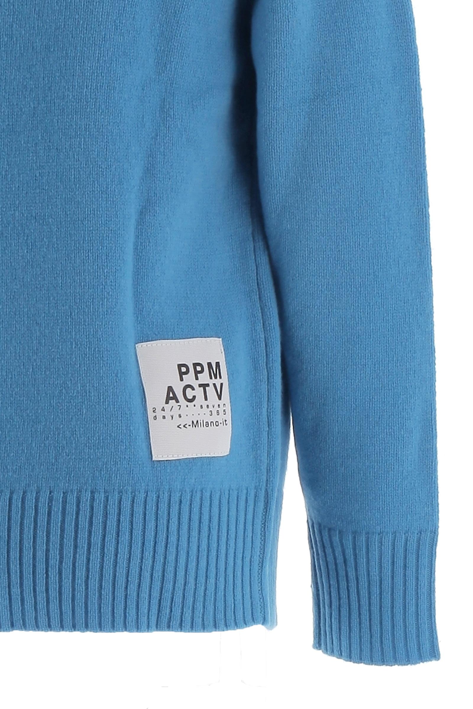 Pullover PAOLO PECORA   Pullover   PP2394AZZURRO