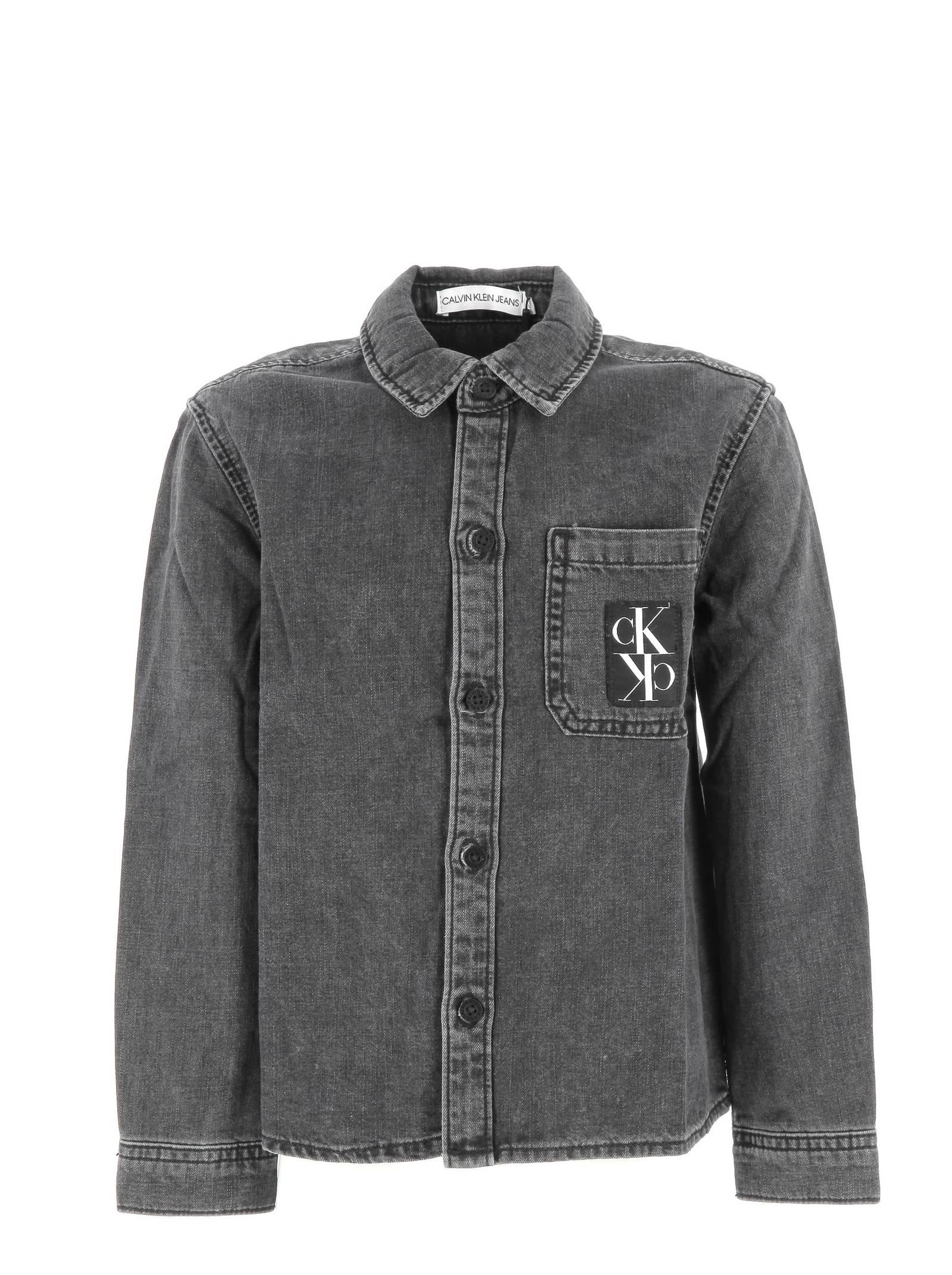 camicia jeans calvin CALVIN KLEIN | Camicia | IB0IB003401BZ