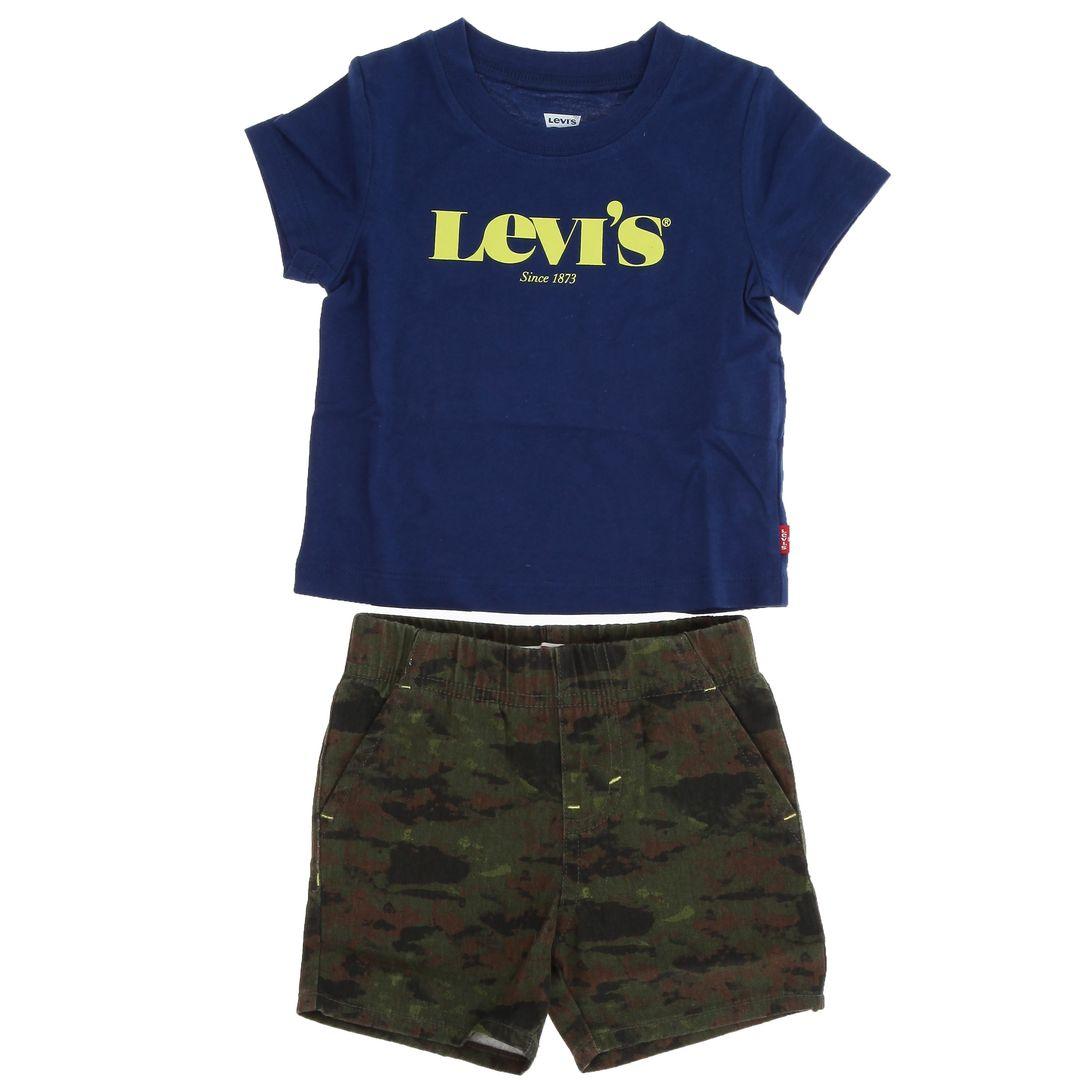Completo baby LEVIS | Completino 2 pezzi | 6EC678U29