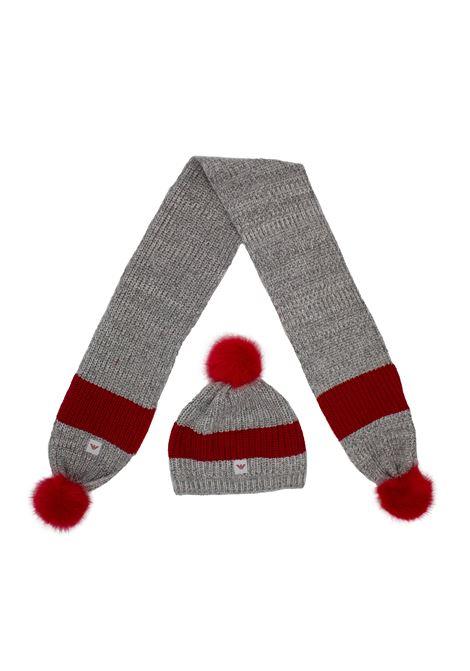 Armani set EMPORIO ARMANI | Set sciarpa cappello | 3973018A71405048