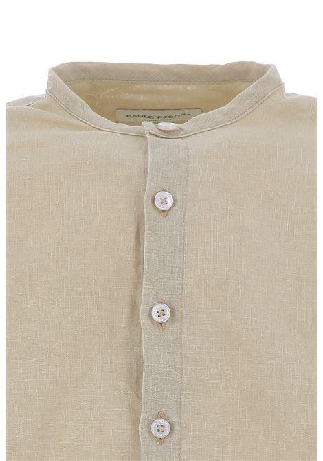Paolo Pecora camicia PAOLO PECORA | Camicia | PP2340BEIGE