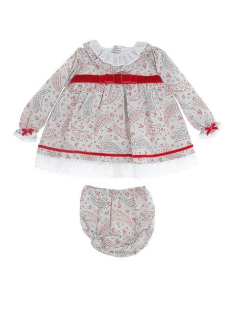 Abitino baby VALENTINA BEBE | Abito baby | WT19166ROSSO