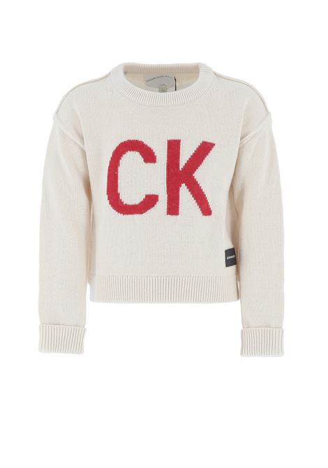 pullover calvin CALVIN KLEIN | Pullover | IGOIG00354PGB