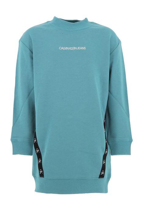 Sweatshirt dress CALVIN KLEIN | Informal dress | IG0IG00710CTM