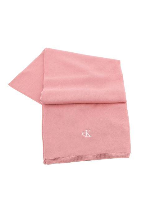 Pink scarf CALVIN KLEIN | Scarf | IU0IU00161TQS