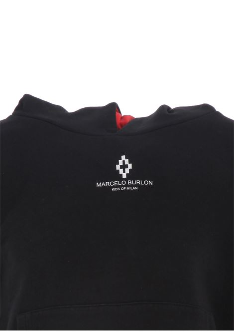 Doubled sleeve hoodie MARCELO BURLON KIDS OF MILAN | Sweatshirt | BMB21060020B010