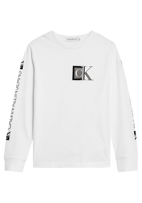 A magliett a manica long CALVIN KLEIN | Maglietta | IB0IB01001YAF