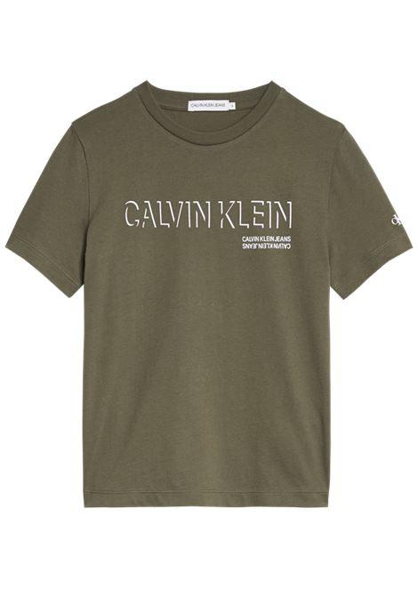 A magliett a manica cort CALVIN KLEIN | Maglietta | IB0IB01003LFH