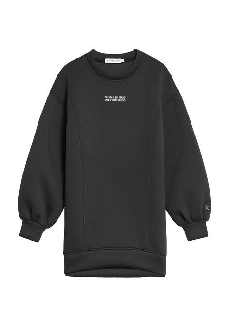 Sweatshirt dress CALVIN KLEIN | Informal dress | IG0IG01186BEH