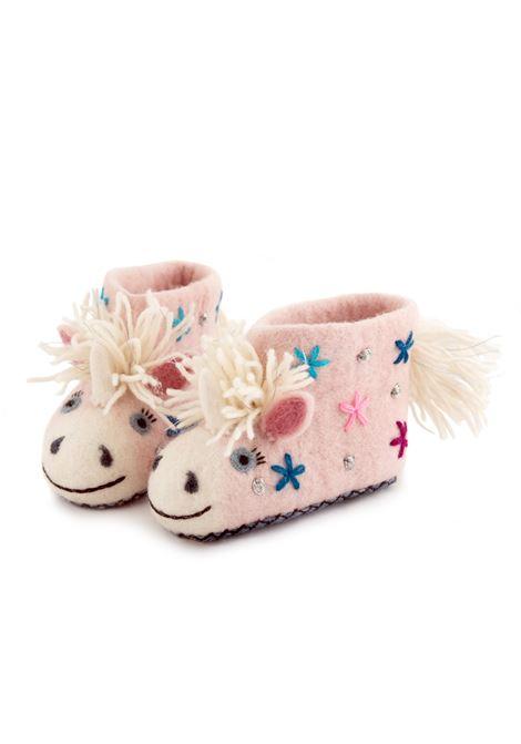 Pantofole feltro LE CONCETTINE | Pantofole | CELESTEROSA
