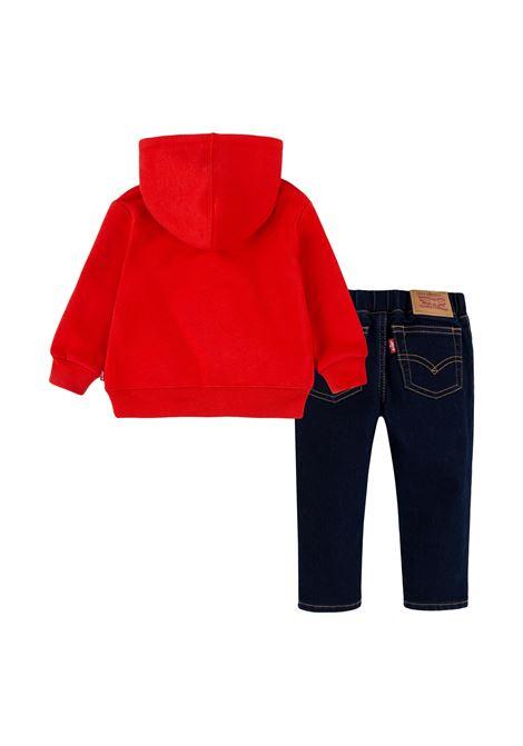 A felp e nu jeans po nennillo LEVIS | Completino 2 pezzi | 6ED535R0G