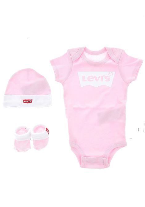 Set body cappellino scarpine LEVIS | Set regalo baby | LL0019A4U