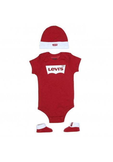 Set body cappellino scarpine LEVIS | Set regalo baby | LL0019R86