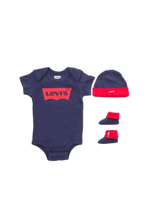 Set body cappellino scarpine LEVIS | Set regalo baby | LL0019U09