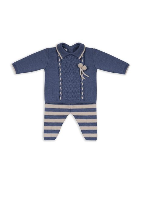 Two pieces baby wool suit MARLU | Set 2 piece | IC6350C13NAT