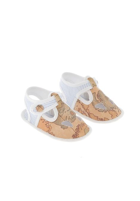 scarpe Alviero Martini ALVIERO MARTINI PRIMA CLASSE | Scarpe da culla | 25SH0240WHITE GEO IST