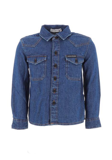 camicia jeans calvin boy CALVIN KLEIN | Camicia | IB0IB00293911