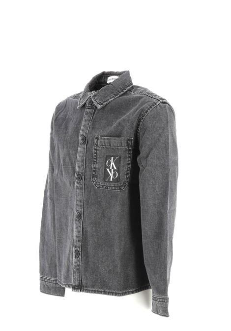 Calvin Klein denim shirt CALVIN KLEIN | Shirt | IB0IB003401BZ