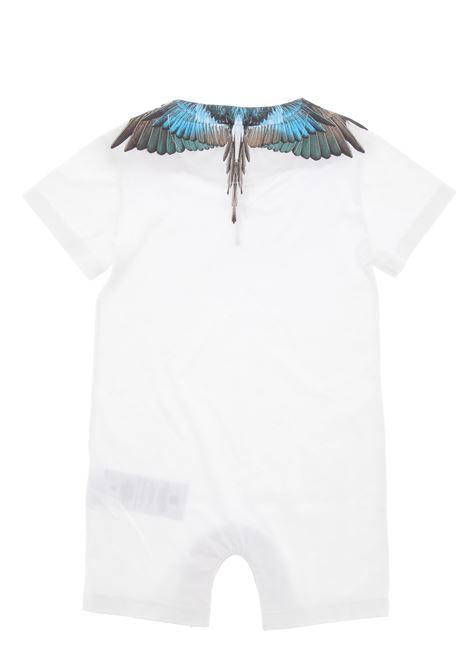 burlon tutina neonato MARCELO BURLON KIDS OF MILAN | Tutina | BMB86100010B000