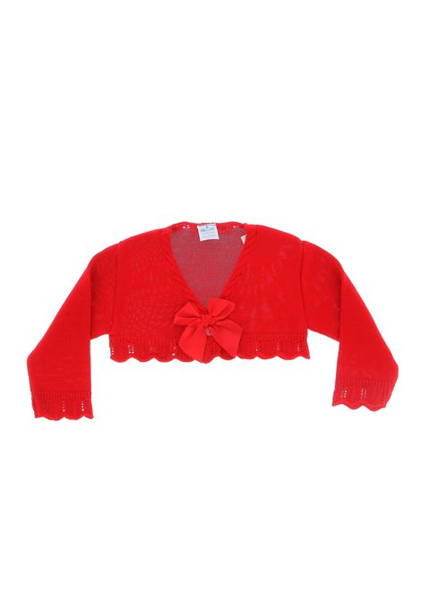Sardon shrug SARDON | Baby jacket | 20VE208ROSSO