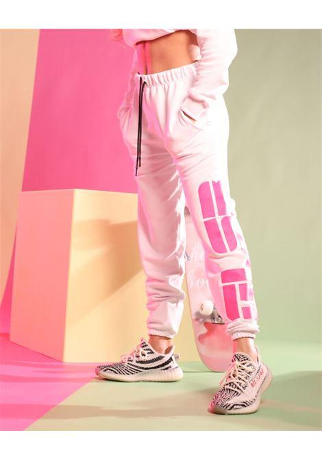 Fleece trousers GLSR | Sweatpants | GT0013PNBIANCO