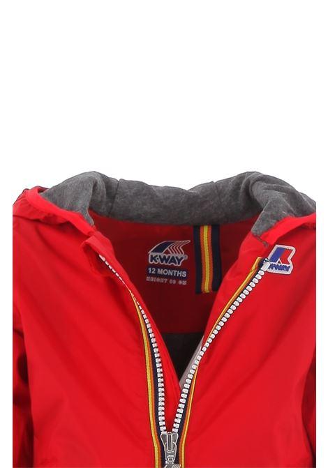 Lined jersey K-way | Jacket | K007A10Q03