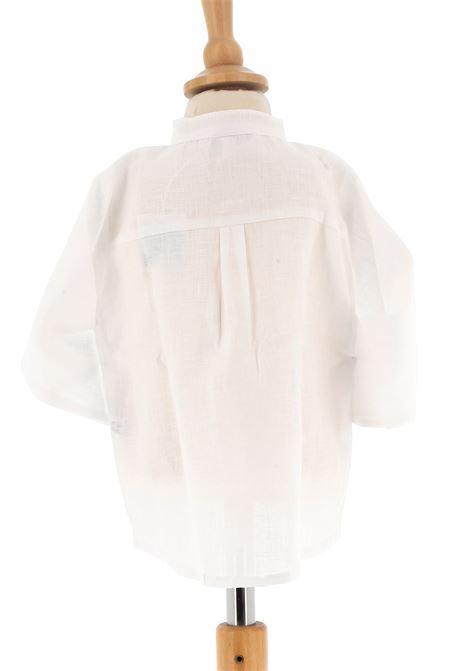 Linen shirt Mariella Ferrari | Shirt | CAC3BIANCO