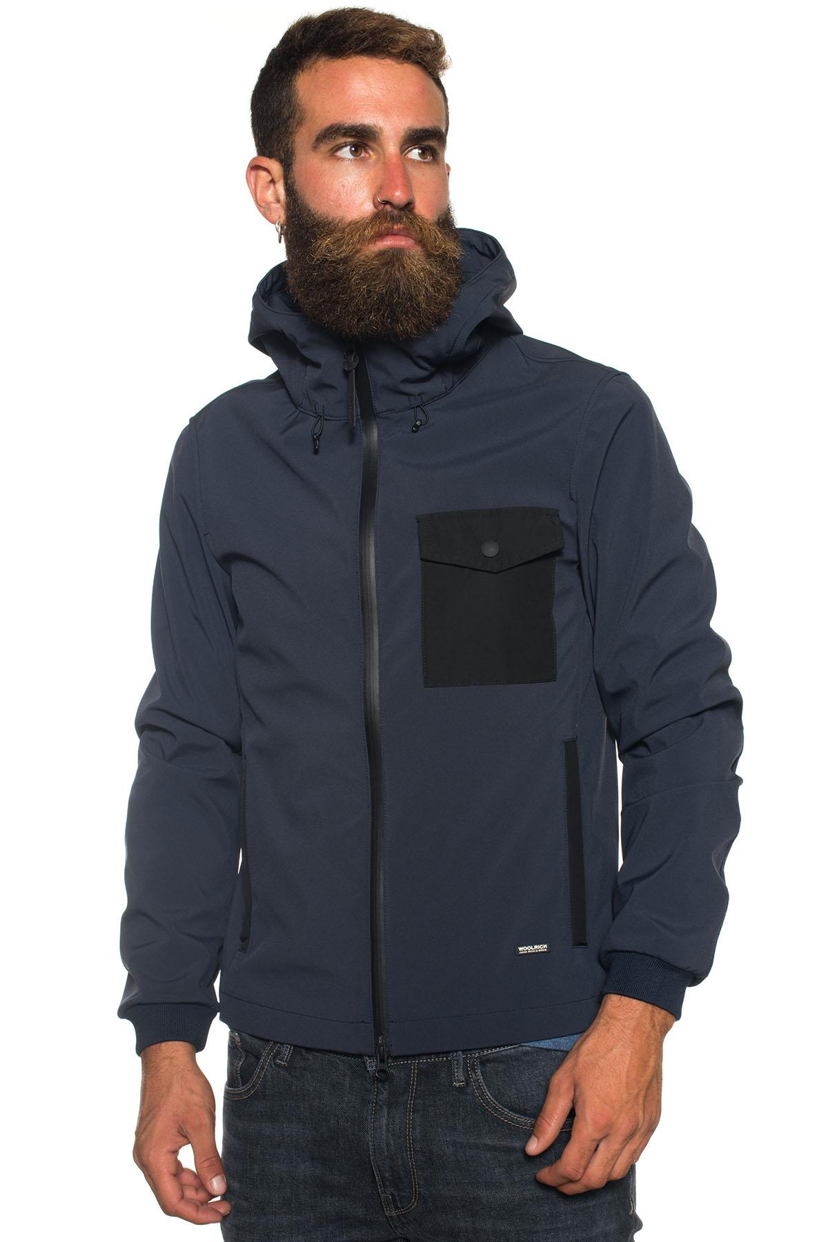 Hooded harrington jacket Woolrich | -276790253 | WOCPS2583-SS023126