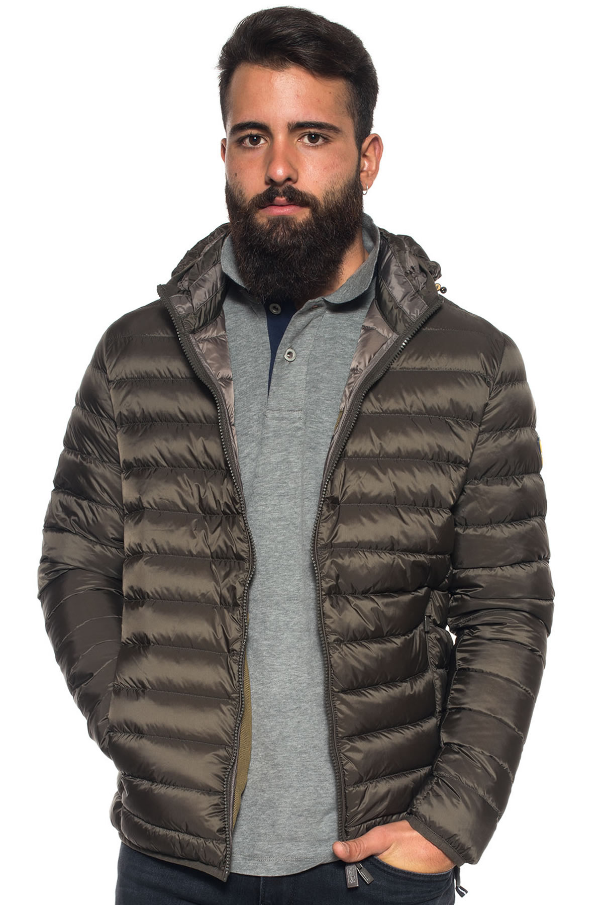 best service fe368 78857 Quilted down jacket
