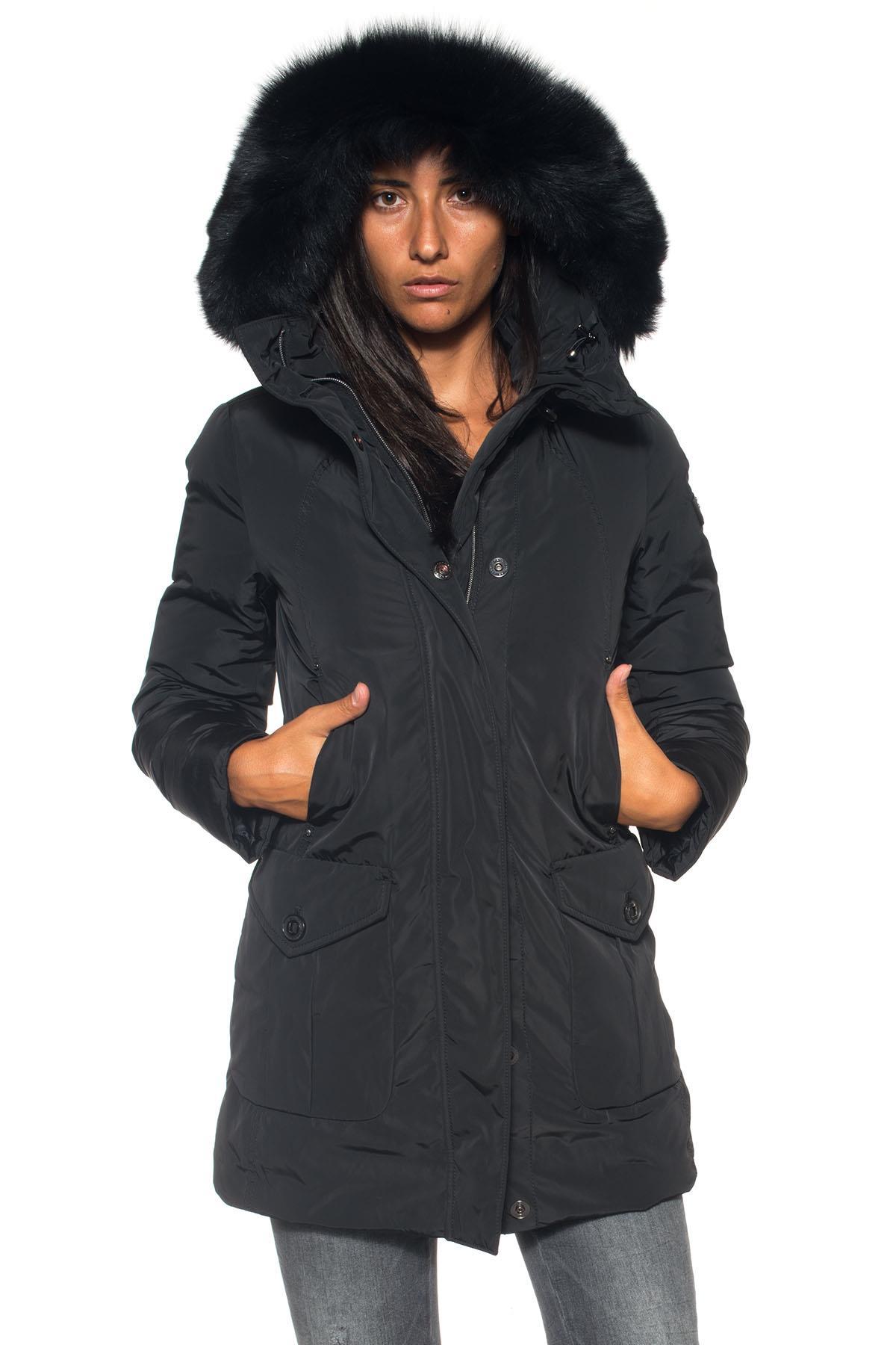 Giaccone Regina GB Fur Peuterey | 20000057 | REGINA GB FUR-PED2656NER