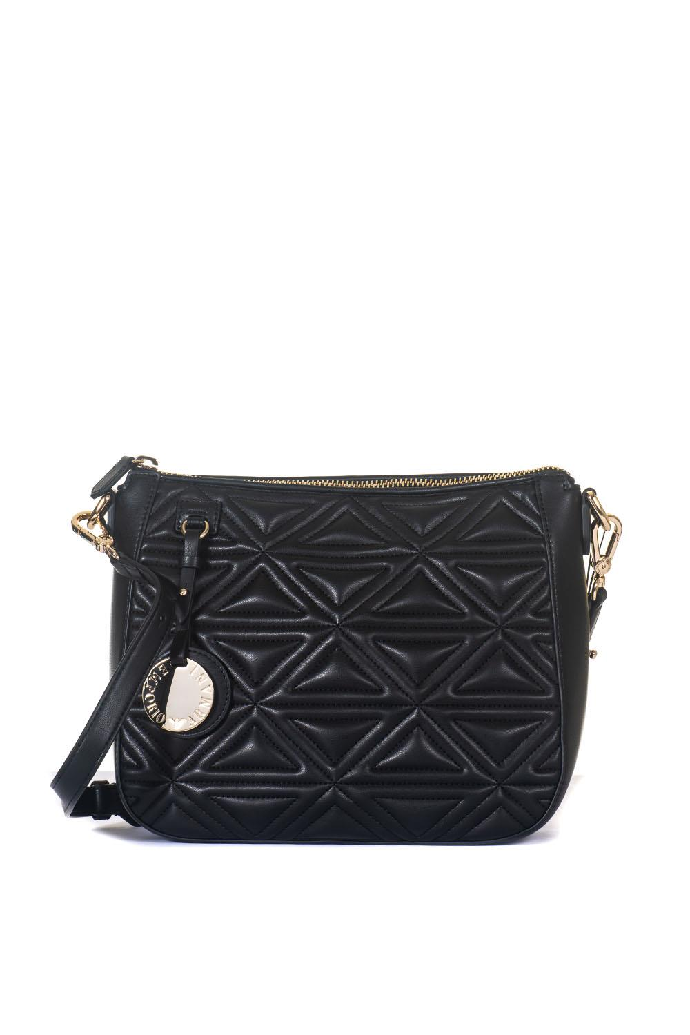 a5890f1d0dee Quilted shoulder strap bag Emporio Armani Colore  nero. Product   Y3E115-YH60A80001 Availability  Sold out