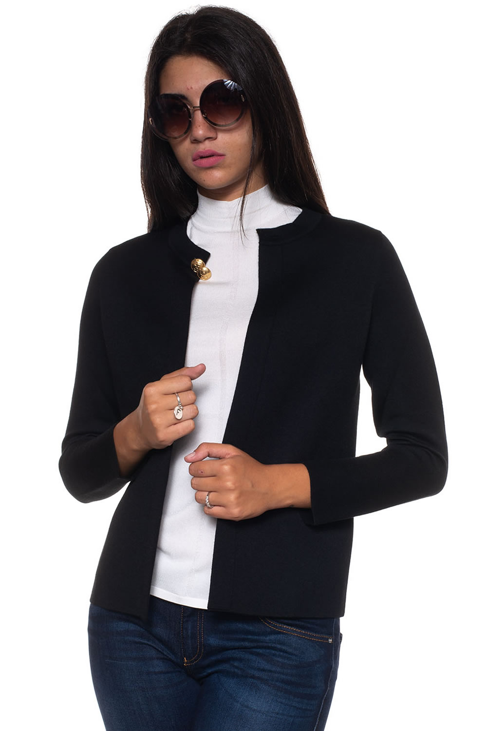 d759605fca Cashmere cardigan Escada Colore  nero. Product  5027985A001 Availability   Sold out