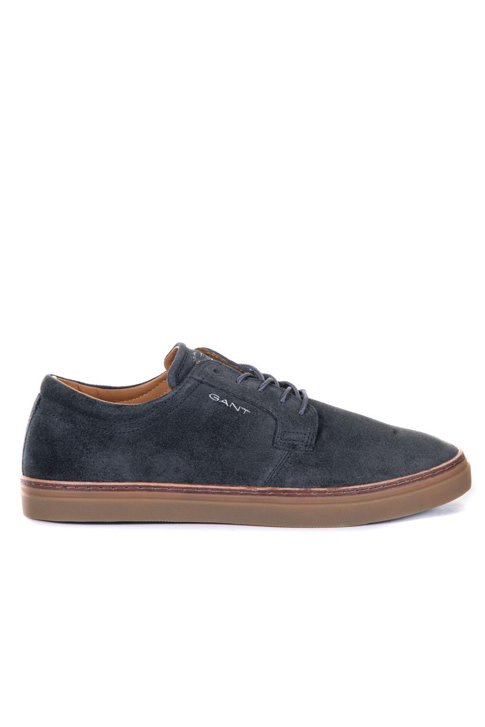 9d59a2fc0bbe7d Low sneaker in suede and rubber - Gant - ScaglioneIschia