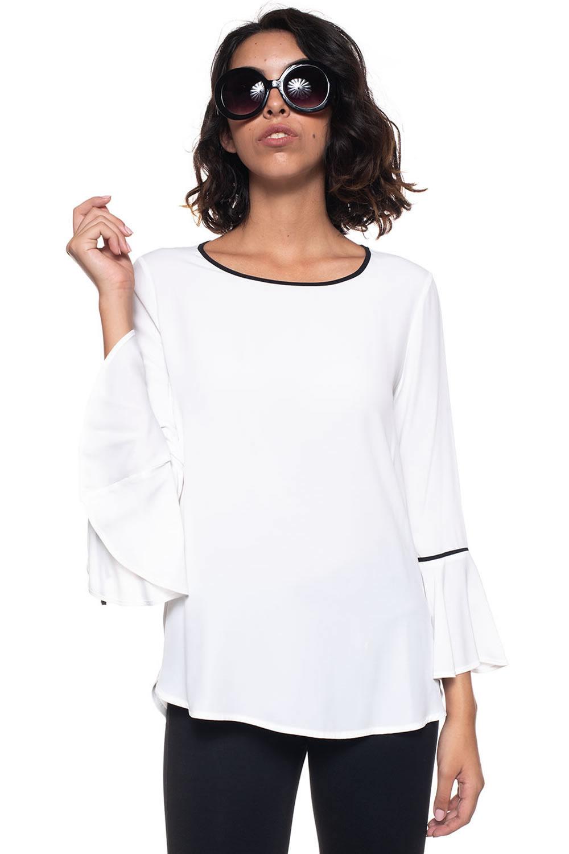 a87eed559a5f Camicia da donna a casacca Goccia - Mariella Rosati - ScaglioneIschia