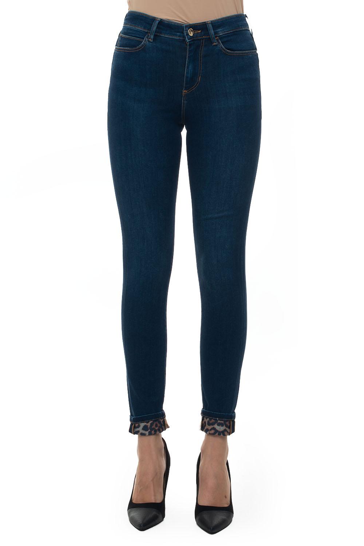 SKINNY HIGH 5 pocket denim Jeans