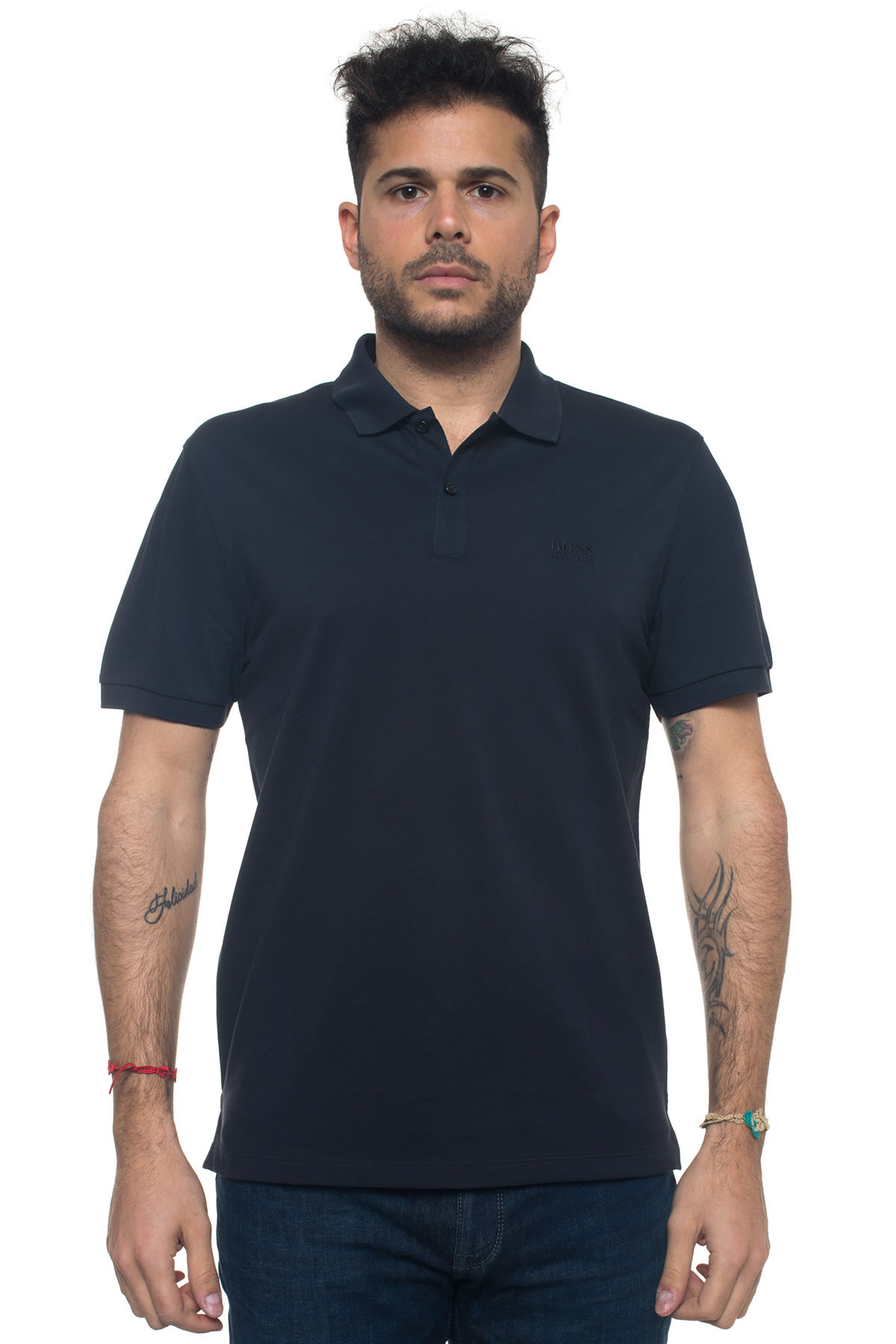 ae648ea8 'Pallas' short sleeve polo shirt - BOSS - ScaglioneIschia