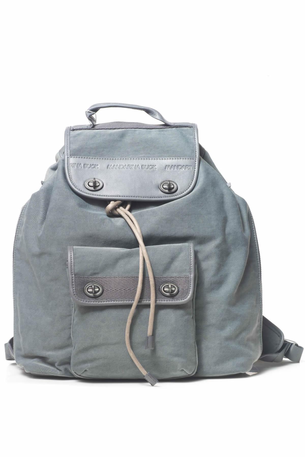 25a6d6984f Leather rucksack - Mandarina Duck - ScaglioneIschia