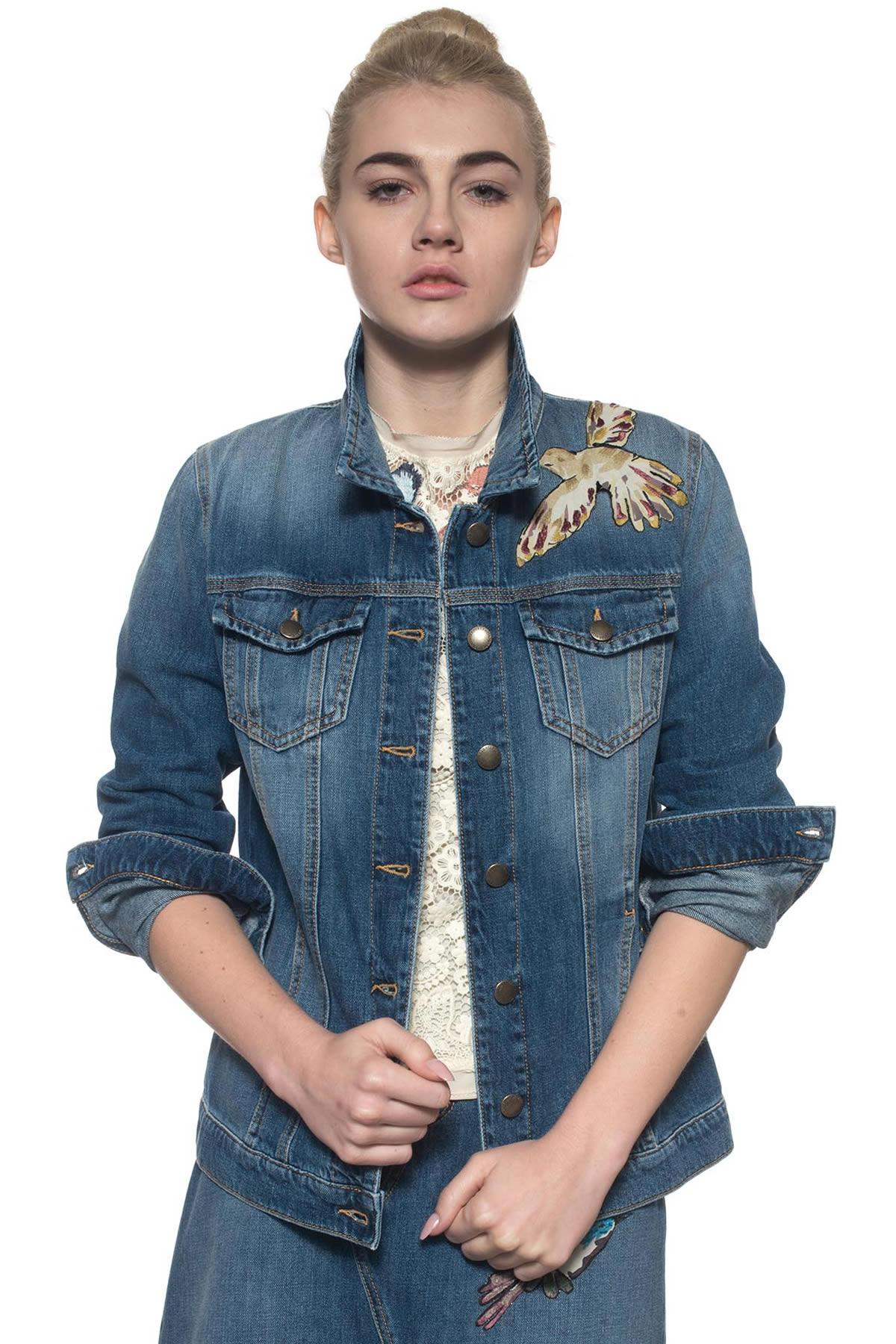 Giubbino in jeans Red Valentino | -276790253 | MR3DC00L-2SS568