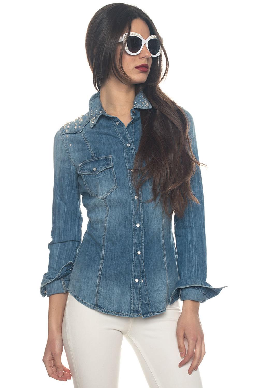 low priced 6558f fa532 Camicia da donna in jeans