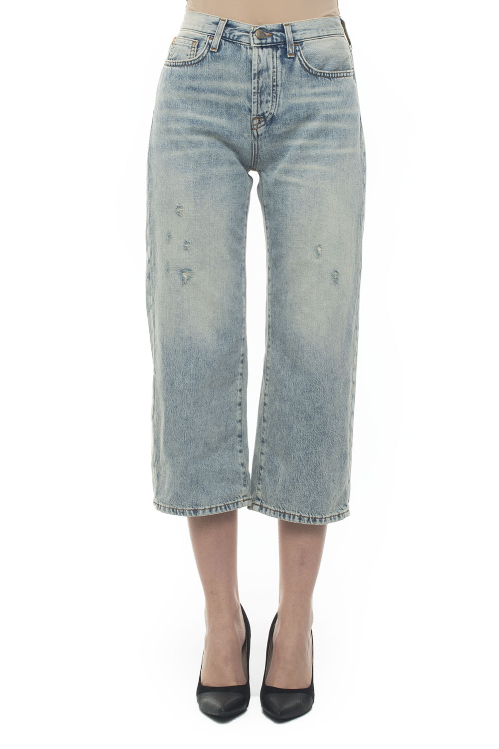 low cost 55b87 74078 FLICK 5 pocket Jeans with cuttings