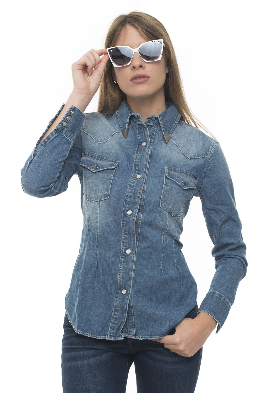 separation shoes 77d5e 07bc1 Camicia da donna in jeans SHIRT PLAY WOMAN DENIM SALT