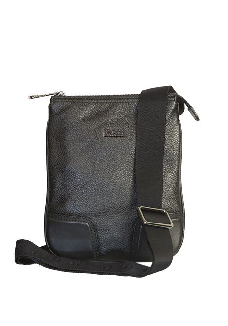 Leather shoulder bag BOSS | 20000001 | MAGMA-50261705001