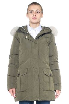 Harrington jacket Regina Peuterey | 20000057 | REGINA OX FUR-PED1999683