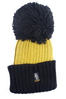 Cappello a coste Refrigue | 5032318 | CAP-R85275NAQ2UMUSTARD/BLACK