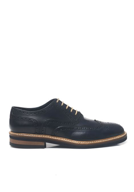 Classical derby shoes with laces Angelo Pallotta | 12 | 852-16BLU